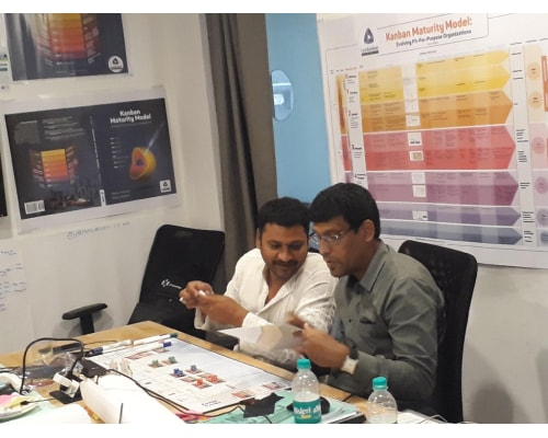 Lean Kanban University (LKU)'s Agile Lean Kanban Certification Program @ Hyderabad -13